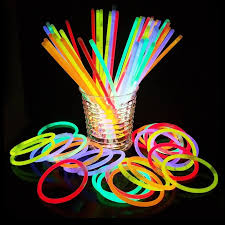 Glow stick glowing toy human body
