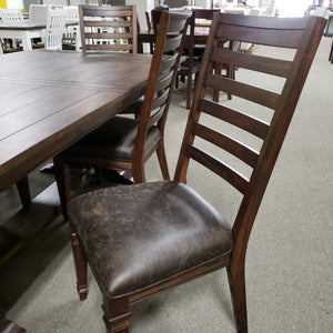 7-Piece Rustic Traditional  Dining Set