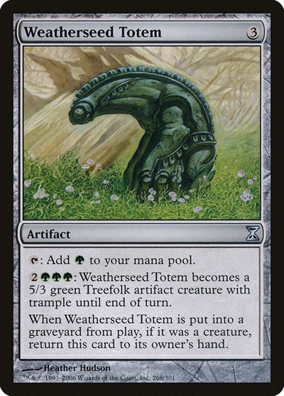 Weatherseed Totem [Time Spiral] | The Game Chamber