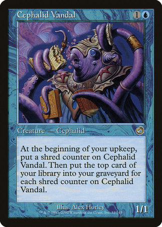 Cephalid Vandal [Torment] | The Game Chamber