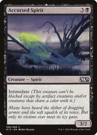 Accursed Spirit [Magic 2015] | The Game Chamber