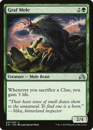Graf Mole [Shadows over Innistrad] | The Game Chamber