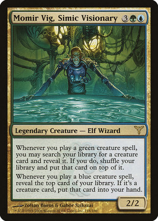 Momir Vig, Simic Visionary [Dissension] | The Game Chamber