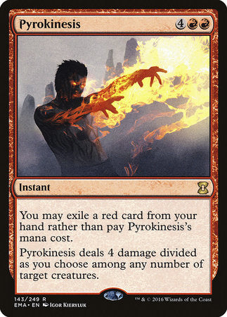 Pyrokinesis [Eternal Masters] | The Game Chamber