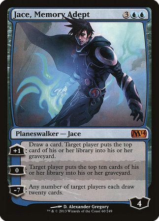 Jace, Memory Adept [Magic 2014] | The Game Chamber