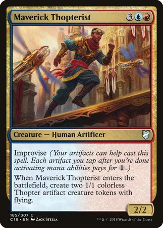Maverick Thopterist [Commander 2018] | The Game Chamber