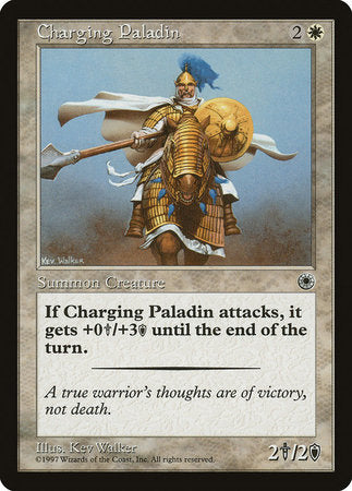 Charging Paladin [Portal] | The Game Chamber