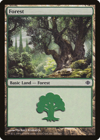 Forest (249) [Shards of Alara] | The Game Chamber