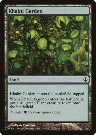 Khalni Garden [Archenemy] | The Game Chamber