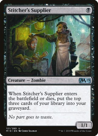 Stitcher's Supplier [Core Set 2019] | The Game Chamber