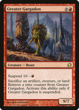Greater Gargadon [Modern Masters] | The Game Chamber