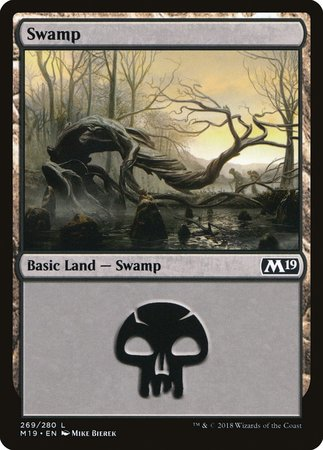 Swamp (269) [Core Set 2019] | The Game Chamber