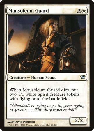 Mausoleum Guard [Innistrad] | The Game Chamber