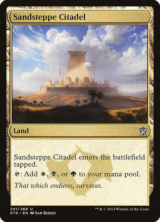 Sandsteppe Citadel [Khans of Tarkir] | The Game Chamber