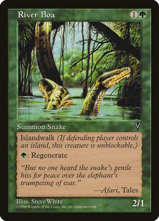River Boa [Visions] | The Game Chamber