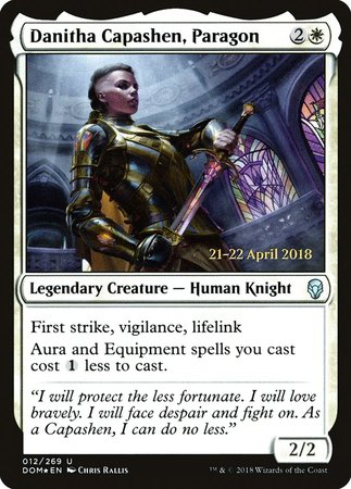 Danitha Capashen, Paragon [Dominaria Promos] | The Game Chamber