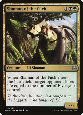 Shaman of the Pack [Magic Origins] | The Game Chamber