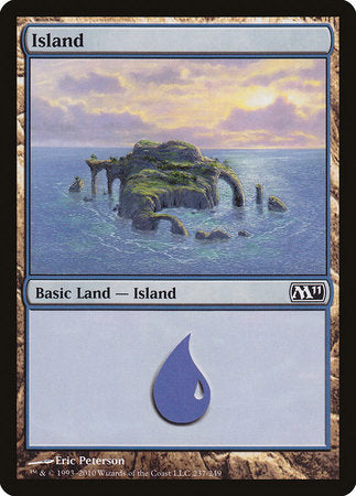 Island (237) [Magic 2011] | The Game Chamber