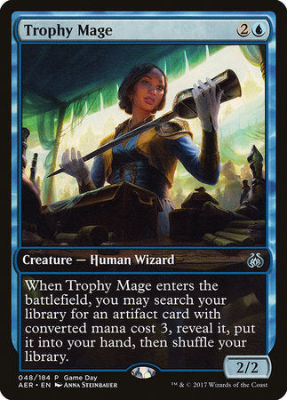 Trophy Mage [Aether Revolt Promos] | The Game Chamber