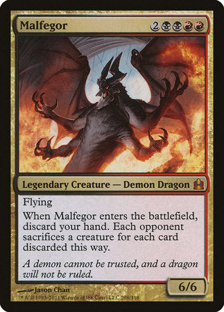 Malfegor [Commander 2011] | The Game Chamber