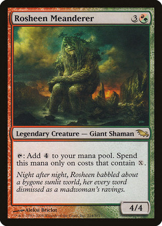 Rosheen Meanderer [Shadowmoor] | The Game Chamber
