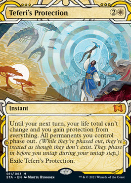 Teferi's Protection (Etched Foil) [Strixhaven Mystical Archive] | The Game Chamber