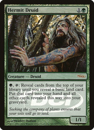 Hermit Druid [Judge Gift Cards 2004] | The Game Chamber