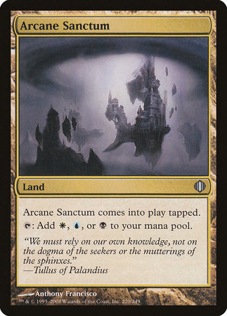 Arcane Sanctum [Shards of Alara] | The Game Chamber