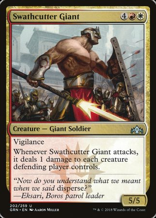Swathcutter Giant [Guilds of Ravnica] | The Game Chamber