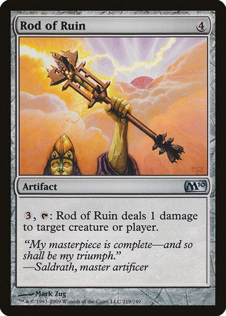 Rod of Ruin [Magic 2010] | The Game Chamber
