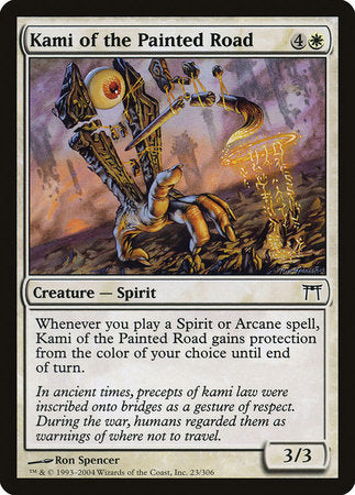 Kami of the Painted Road [Champions of Kamigawa] | The Game Chamber