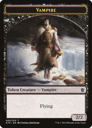Vampire Token [Khans of Tarkir Tokens] | The Game Chamber