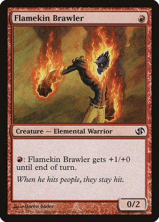 Flamekin Brawler [Duel Decks: Jace vs. Chandra] | The Game Chamber