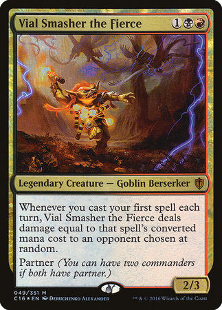 Vial Smasher the Fierce [Commander 2016] | The Game Chamber