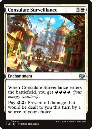 Consulate Surveillance [Kaladesh] | The Game Chamber