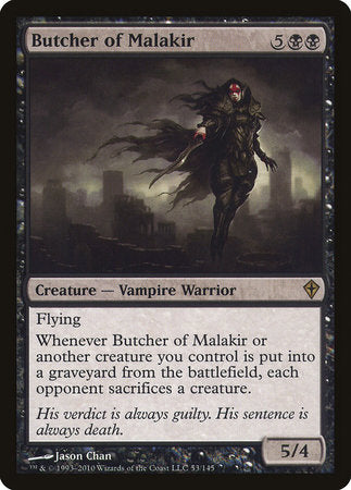 Butcher of Malakir [Worldwake] | The Game Chamber