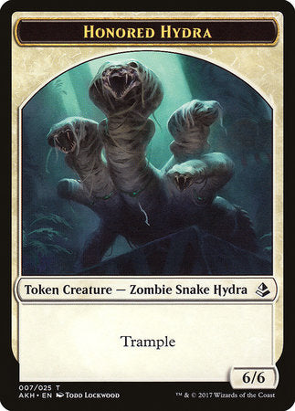 Honored Hydra Token [Amonkhet Tokens] | The Game Chamber