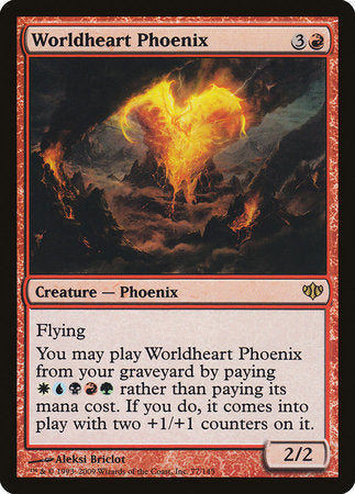 Worldheart Phoenix [Conflux] | The Game Chamber