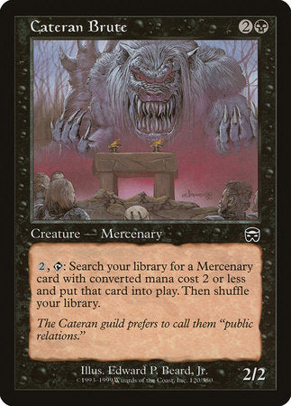 Cateran Brute [Mercadian Masques] | The Game Chamber