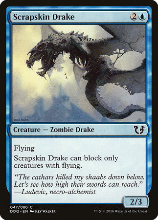 Scrapskin Drake [Duel Decks: Blessed vs. Cursed] | The Game Chamber
