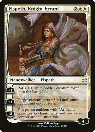 Elspeth, Knight-Errant [Modern Masters] | The Game Chamber