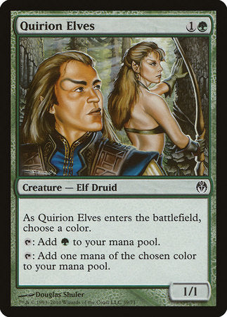 Quirion Elves [Duel Decks: Phyrexia vs. the Coalition] | The Game Chamber