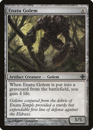 Enatu Golem [Rise of the Eldrazi] | The Game Chamber