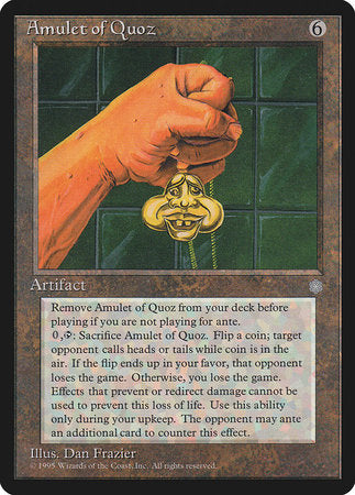 Amulet of Quoz [Ice Age] | The Game Chamber