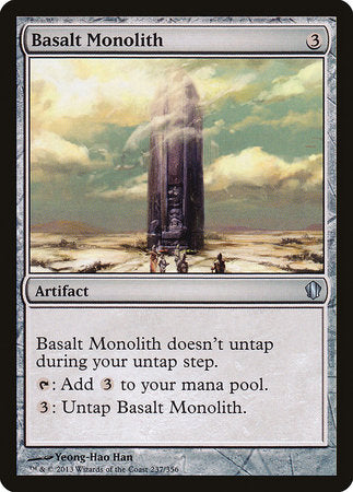 Basalt Monolith [Commander 2013] | The Game Chamber