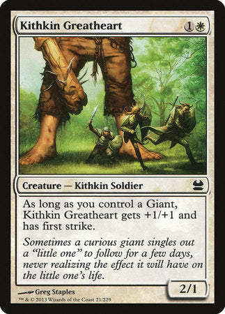 Kithkin Greatheart [Modern Masters] | The Game Chamber