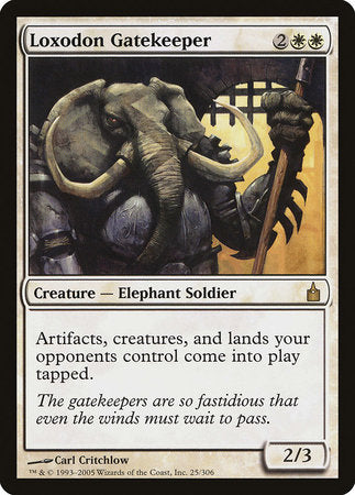 Loxodon Gatekeeper [Ravnica: City of Guilds] | The Game Chamber