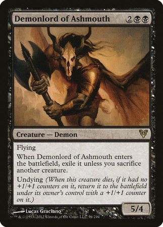 Demonlord of Ashmouth [Avacyn Restored] | The Game Chamber