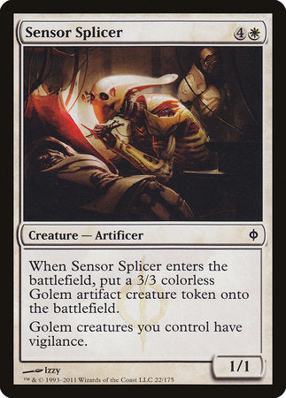 Sensor Splicer [New Phyrexia] | The Game Chamber