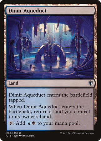 Dimir Aqueduct [Commander 2016] | The Game Chamber
